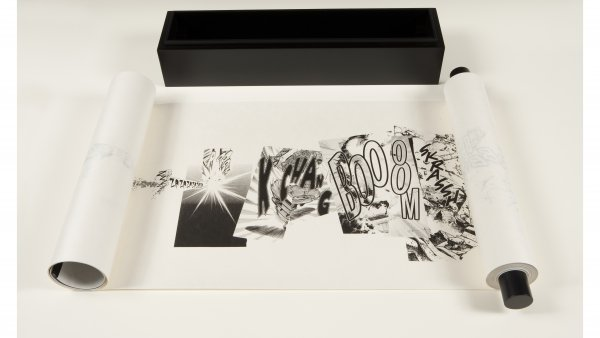 "Christian Marclay ""Manga Scroll"", 2010"