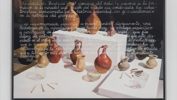 """Sandra Gamarra """"Mercancía I (Bodegón)"""", 2018. Cortesía de la artista yla galería Juan de Aizpuru"""