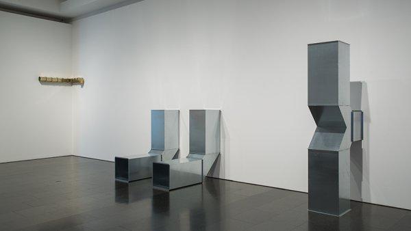 "Charlotte Posenenske ""Square Tubes: Series D"", 1967/2010.  Foto: La Fotogràfica"