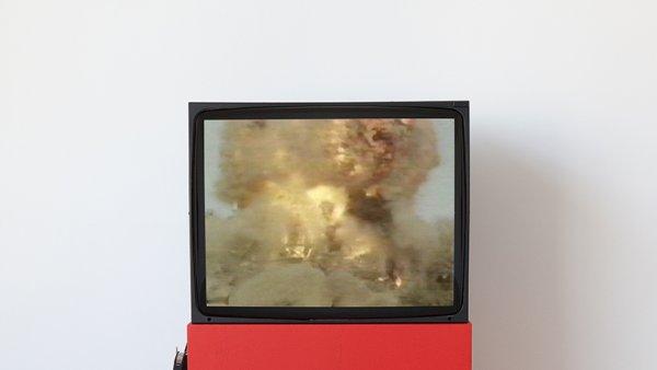 installation view, On Non-Visibility, Greene Naftali, New York, 2018.