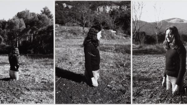 """Fina Miralles """"Translacions. Dona-arbre"""", 1973"""