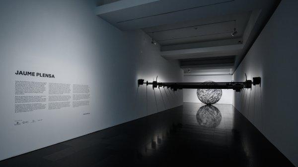"""Vistes de l'exposició """"Jaume Plensa"""""""