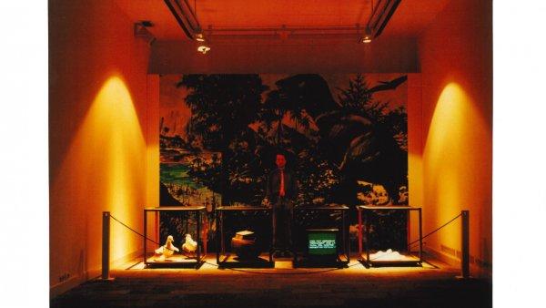 Francesc Abad: Dinosaures. Pertorbacións irreversibles, 1987