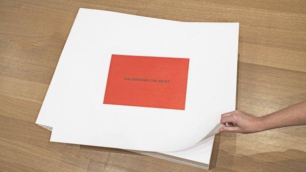 """""""Untitled"""" (We Don't Remember), Felix Gonzalez-Torres"""