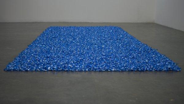 """Untitled"" (Blue Placebo), Felix Gonzalez-Torres"