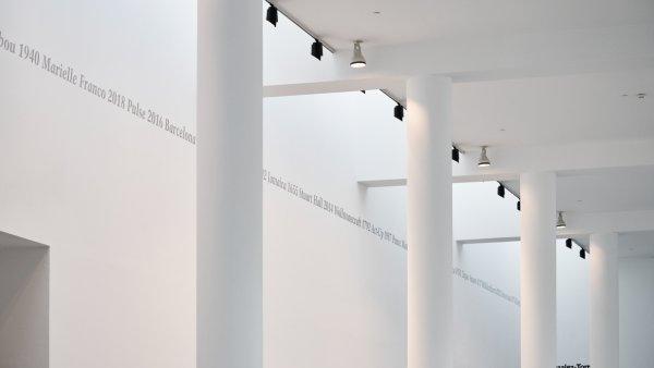 """Vistes de """"Felix Gonzalez-Torres. Política de la relació"""". Foto: Miquel Coll"""