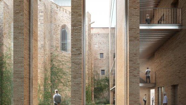 Imatges renders proposta arquitectònica MACBA