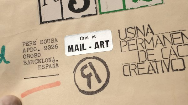 Muestreo #2. This is mail art