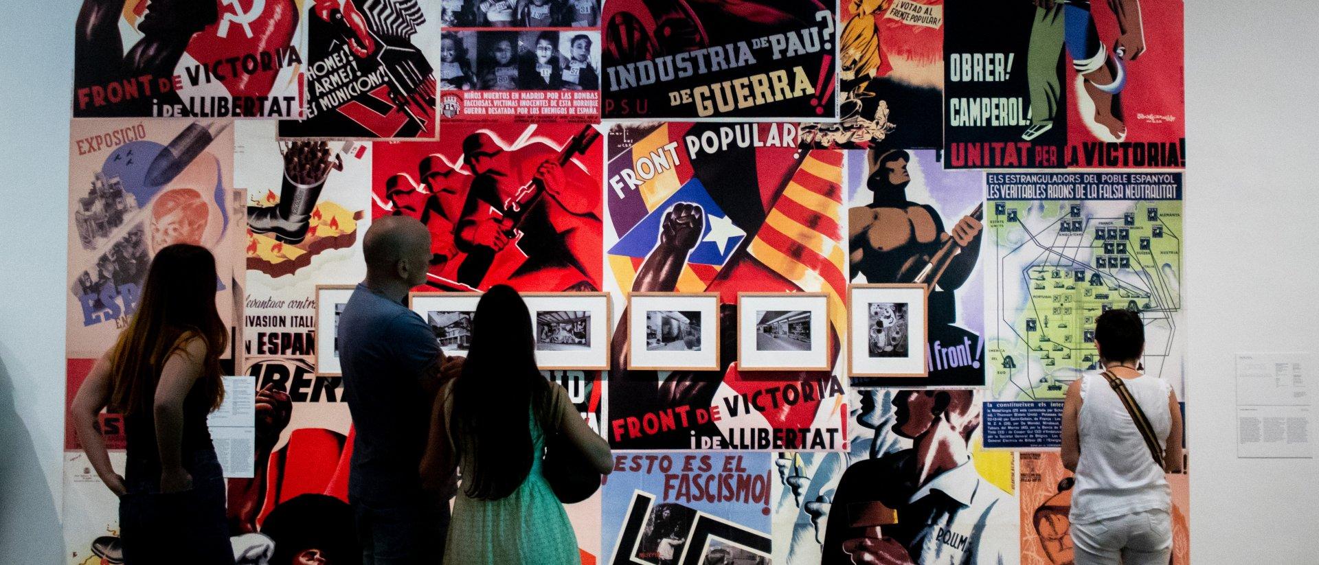 Vistas de Un siglo breve: Colección MACBA. Foto: Dani Cantó