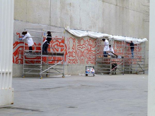 Fotografía general del proceso de trabajo. Foto: Silvia Noguer