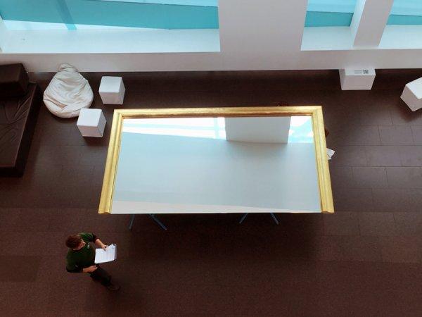 Instalación en el museo