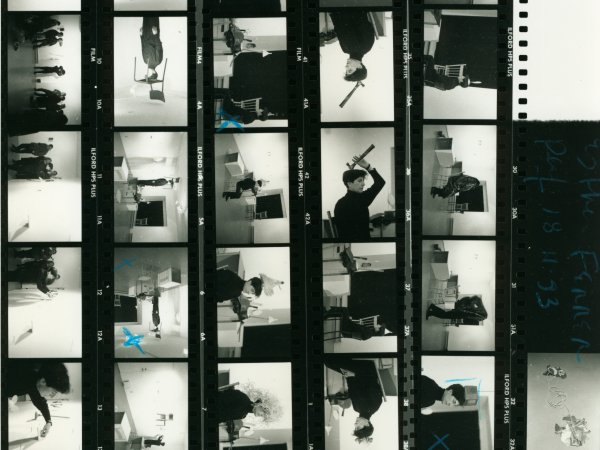 Document collection on the performances of Esther Ferrer