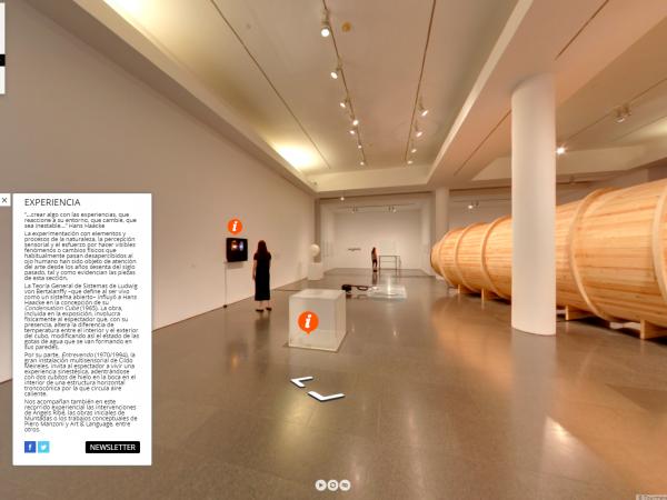 "Recorrido virtual por la exposición ""Colección MACBA 31"""