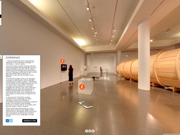Virtual tour through the MACBA 'Collection 31 exhibition'