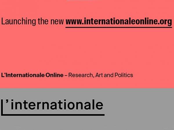 L'Internationale activa una gran plataforma web para compartir sus contenidos (in English)