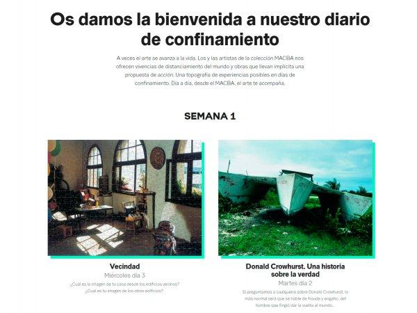 El MACBA en casa (in Spanish)