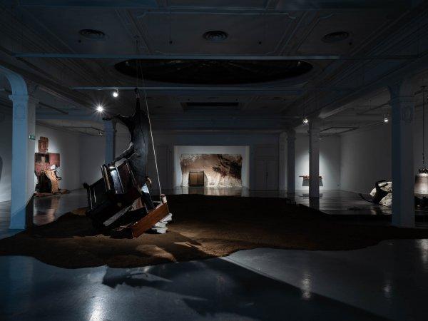 """Vistes """"En temps real. La Col·lecció Rafael Tous d'art conceptual"""". Sala Metrònom"""