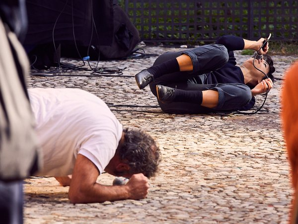 Moment of Cantar l'aigua, by Marc Vives and Laia Estruch