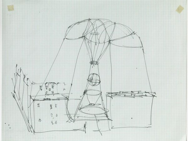 Gordon Matta-Clark's imagined cities