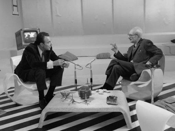 """Roger Kahane """"Un certain regard, La logique du vivant: François Jacob rencontre Claude Lévi Strauss"""", 1966"""
