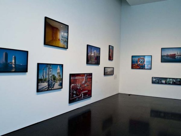 "'Volume! Works from the Collections of the ""la Caixa"" Exhibition views,  Foundation and MACBA' 2011-2012"