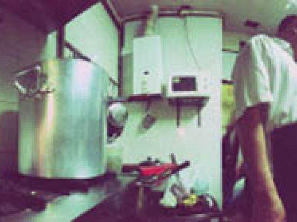 "Allan Sekula ""Fil Manila Restaurant, Raval, Barcelona - 2. Sèrie: Methane for all"", 2008"