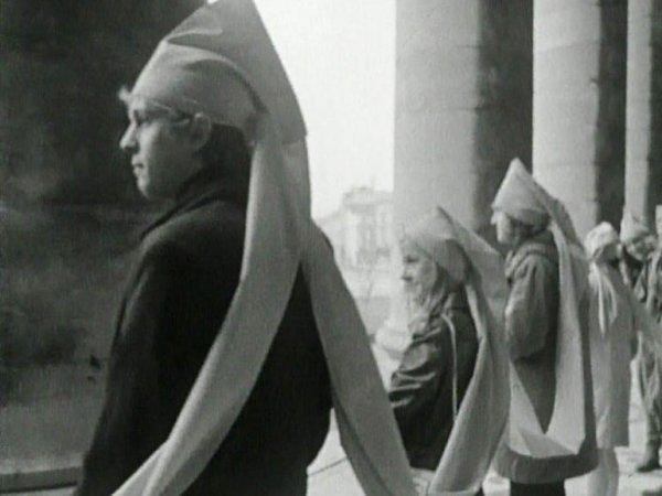 "Jef  Cornelis ""James Lee Byars, Antwerpen 18 april - 7 mei 1969"", 1969"