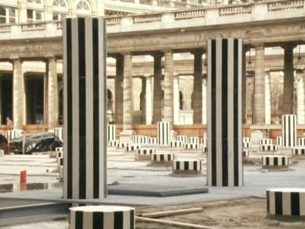 "Jef Cornelis ""Daniel Buren (Palais Royal)"", 1971"