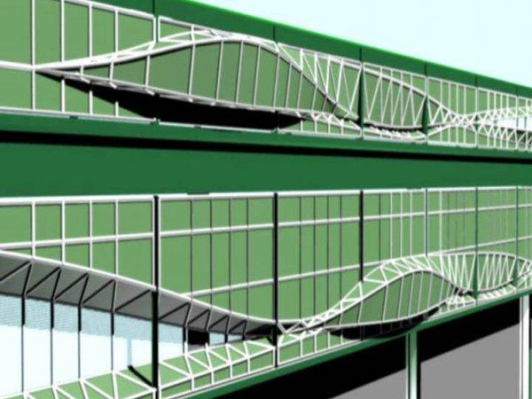 """Vito Acconci """"Buildings"""", 2004"""