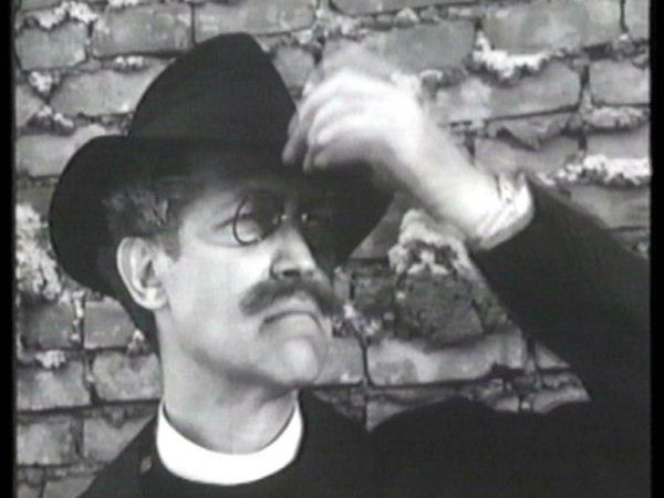 """Samuel Beckett """"Film"""", 1965 (fotograma)"""