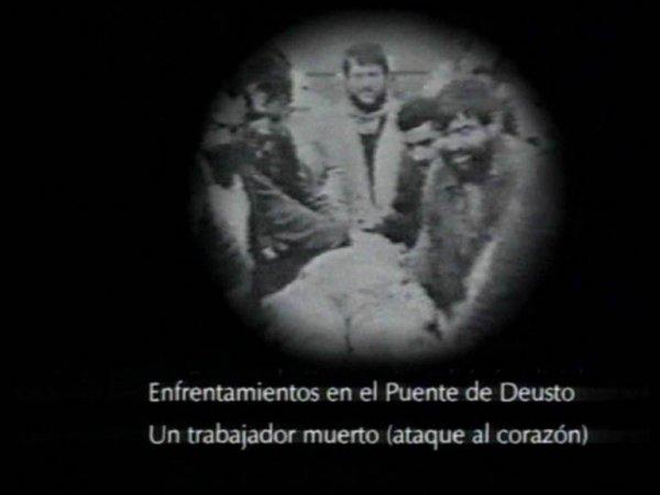 """Marcelo Expósito """"Octubre en el norte: temporal del noroeste"""", 1995"""