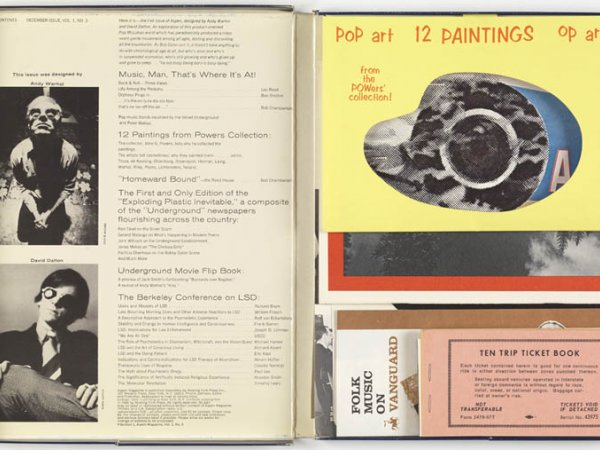 "ASPEN ""The Multimedia Magazine in a Box. Nº3. The Pop Art issue"", 1966"