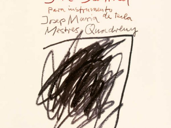 "Josep Maria Mestres Quadreny ""Suite Bechtold"", 1944"