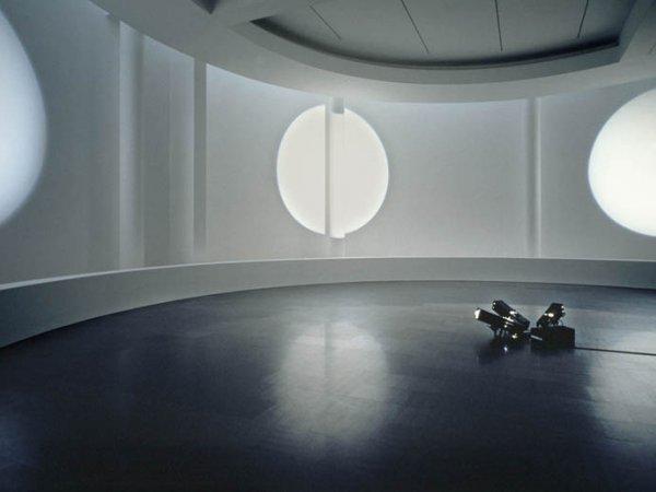 """Michel Verjux """"Je cherche un être humain"""", 1996. Fotografia: Martín García Pérez"""