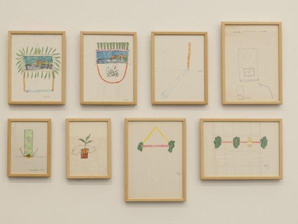 """Vista de l'exposició """"Fisures. Episodis crítics (1957-2011). Col·lecció MACBA"""", 2012-2013"""