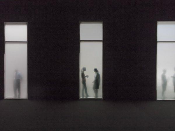 """Vista de l'exposició """"Treball, poder i control. Episodis crïtics (1957-2011). Col·lecció MACBA"""", 2012-2013"""
