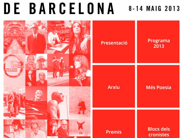 International Poetry Festival, Barcelona