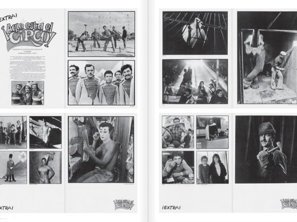 """Selecció del catàleg """"Centre Internacional de Fotografia Barcelona (1978-1983) """", pàgines 100 i 101"""