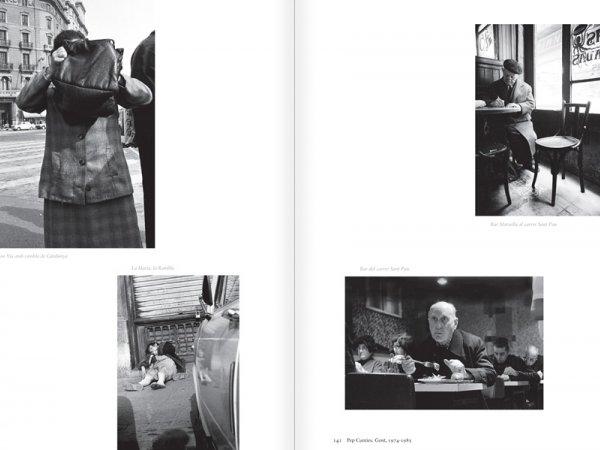 """Selecció del catàleg """"Centre Internacional de Fotografia Barcelona (1978-1983) """", pàgines 140 i 141"""