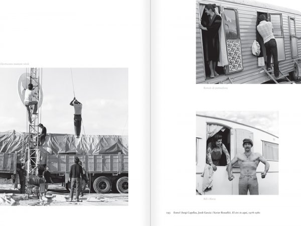 """Selecció del catàleg """"Centre Internacional de Fotografia Barcelona (1978-1983) """", pàgines 192 i 193"""