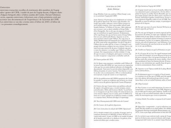 """Selecció del catàleg """"Centre Internacional de Fotografia Barcelona (1978-1983) """", pàgines 210 i 211"""