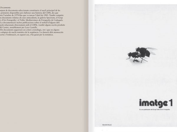 "Selection from the catalogue ""Centre Internacional de Fotografia Barcelona (1978-1983) "", pages 34 and 35"