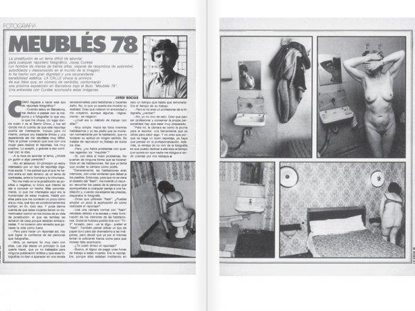 """Selecció del catàleg """"Centre Internacional de Fotografia Barcelona (1978-1983) """", pàgines 60 i 61"""