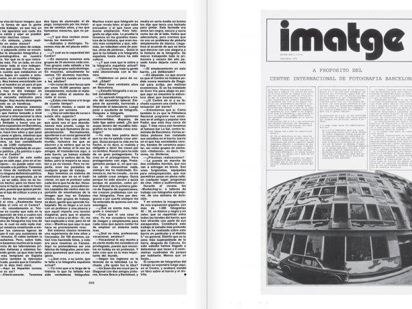 """Selecció del catàleg """"Centre Internacional de Fotografia Barcelona (1978-1983) """", pàgines 66 i 67"""