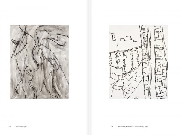 """Selection from the catalogue """"Luis Claramunt. El viatge vertical"""", pages 110 and 111"""