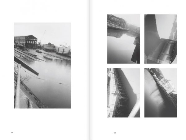 """Selection from the catalogue """"Luis Claramunt. El viatge vertical"""", pages 160 and 161"""