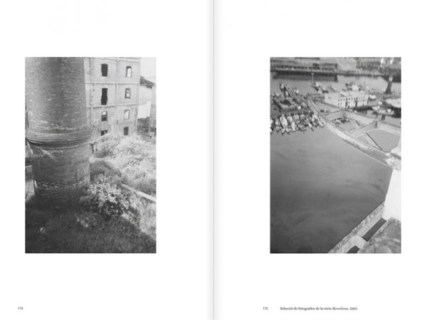 """Selection from the catalogue """"Luis Claramunt. El viatge vertical"""", pages 174 and 175"""