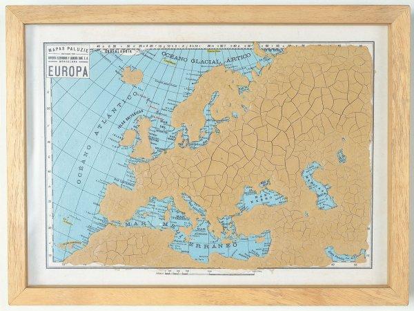 Foto Mapa d'Europa...