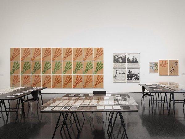 """Vistes de l'exposició """"ART & LANGUAGE Incomplet"""", 2014. Foto: EOS-AF, Estudi Orpinell & Sánchez -- Artesania Fotogràfica"""