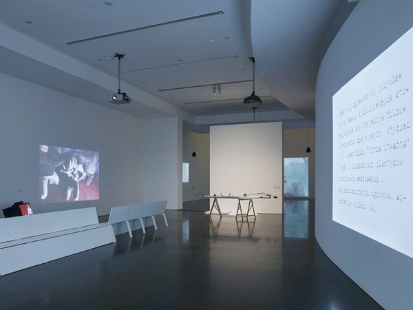 """Vistas de la exposición """"Oskar Hansen. Forma abierta"""", 2014"""